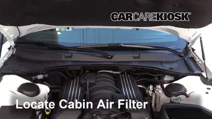 2017 Dodge Charger SRT 392 6.4L V8 Filtro de aire (interior)