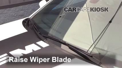 2017 Dodge Charger SRT 392 6.4L V8 Escobillas de limpiaparabrisas delantero