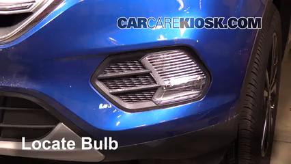 2017 Ford Escape SE 2.0L 4 Cyl. Turbo Lights Fog Light (replace bulb)