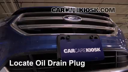 2017 Ford Escape SE 2.0L 4 Cyl. Turbo Oil Change Oil and Oil Filter