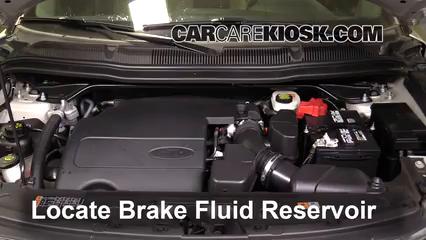 2017 Ford Explorer XLT 3.5L V6 Liquide de frein