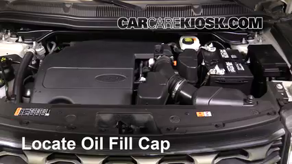 2017 Ford Explorer XLT 3.5L V6 Huile