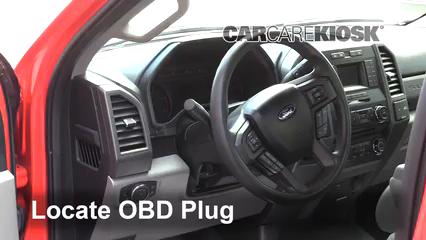 2017 Ford F-250 Super Duty XL 6.7L V8 Turbo Diesel Standard Cab Pickup Lumière « Check engine » du moteur