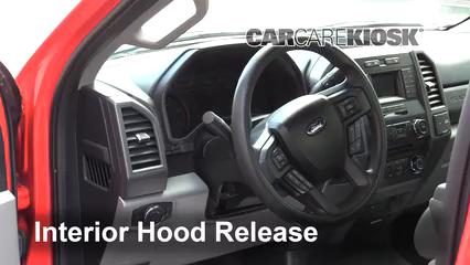 2017 Ford F-250 Super Duty XL 6.7L V8 Turbo Diesel Standard Cab Pickup Capot