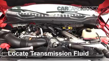 2017 Ford F-250 Super Duty XL 6.7L V8 Turbo Diesel Standard Cab Pickup Líquido de transmisión Agregar líquido