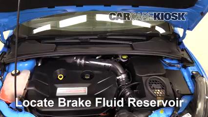 2017 Ford Focus RS 2.3L 4 Cyl. Turbo Líquido de frenos