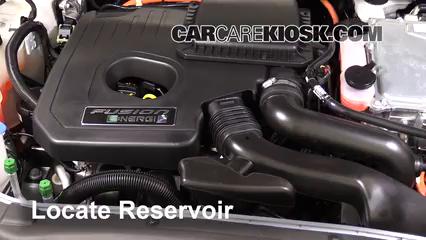 2017 Ford Fusion Energi Titanium 2.0L 4 Cyl. Líquido limpiaparabrisas