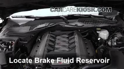 2017 Ford Mustang GT 5.0L V8 Liquide de frein