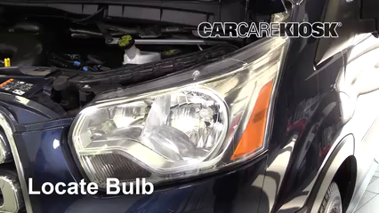 2017 Ford Transit-150 XLT 3.7L V6 FlexFuel Éclairage Feux de route (remplacer l'ampoule)