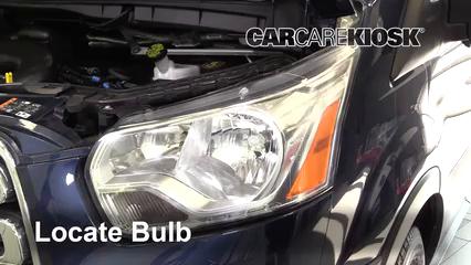 2017 Ford Transit-150 XLT 3.7L V6 FlexFuel Éclairage Feu de jour (remplacer l'ampoule)
