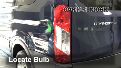 2017 Ford Transit-150 XLT 3.7L V6 FlexFuel Éclairage Feu stop (remplacer ampoule)