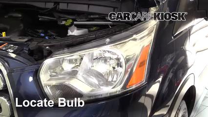 2017 Ford Transit-150 XLT 3.7L V6 FlexFuel Éclairage Feu clignotant avant (remplacer l'ampoule)