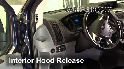 2017 Ford Transit-150 XLT 3.7L V6 FlexFuel Capot