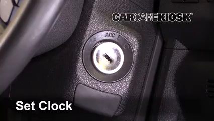 2017 GMC Acadia Limited 3.6L V6 Horloge