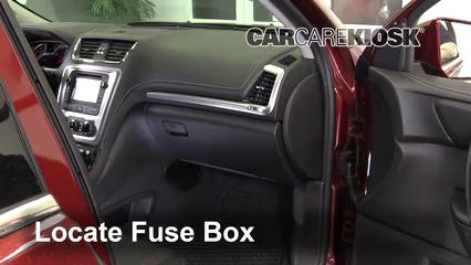 2017 GMC Acadia Limited 3.6L V6 Fusible (intérieur)