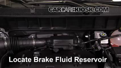 2017 GMC Acadia SLE 2.5L 4 Cyl. Brake Fluid