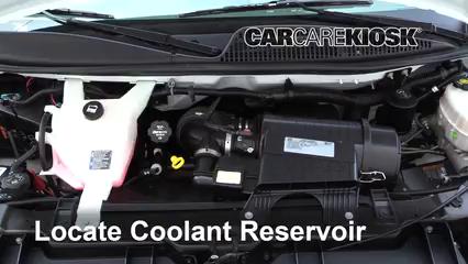 2017 GMC Savana 2500 4.8L V8 FlexFuel Extended Cargo Van Coolant (Antifreeze) Check Coolant Level