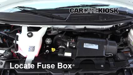 2017 GMC Savana 2500 4.8L V8 FlexFuel Extended Cargo Van Fuse (Engine) Replace