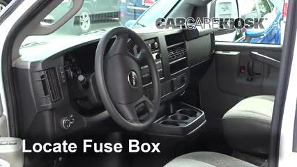 2017 GMC Savana 2500 4.8L V8 FlexFuel Extended Cargo Van Fuse (Interior)