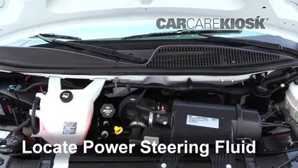 2017 GMC Savana 2500 4.8L V8 FlexFuel Extended Cargo Van Power Steering Fluid Fix Leaks