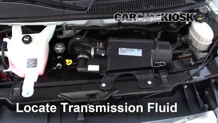 2017 GMC Savana 2500 4.8L V8 FlexFuel Extended Cargo Van Transmission Fluid