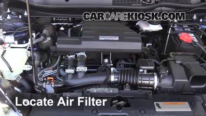 2017 Honda CR-V EX 1.5L 4 Cyl. Turbo Filtre à air (moteur)