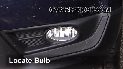 2017 Honda CR-V EX 1.5L 4 Cyl. Turbo Éclairage Feu antibrouillard (remplacer l'ampoule)