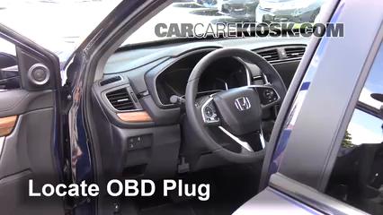 2017 Honda CR-V EX 1.5L 4 Cyl. Turbo Lumière « Check engine » du moteur