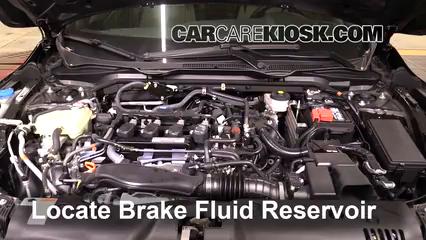 2017 Honda Civic LX 1.5L 4 Cyl. Turbo Coupe Brake Fluid