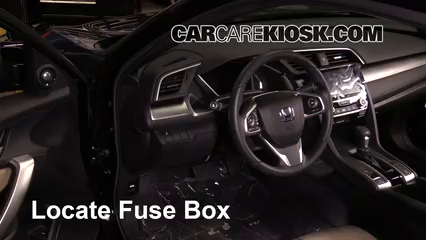 2017 Honda Civic LX 1.5L 4 Cyl. Turbo Coupe Fuse (Interior)