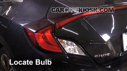 2017 Honda Civic LX 1.5L 4 Cyl. Turbo Coupe Luces Luz trasera (reemplazar foco)