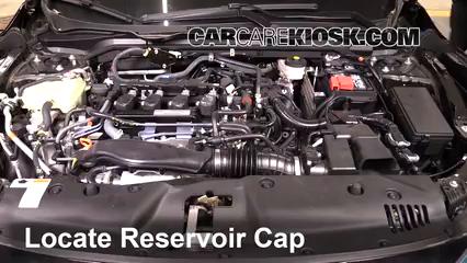 2016 Honda Civic LX 2.0L 4 Cyl. Sedan Liquide de transmission