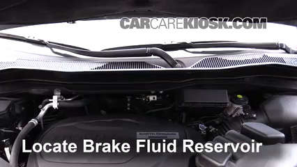 2017 Honda Ridgeline RTL 3.5L V6 Brake Fluid