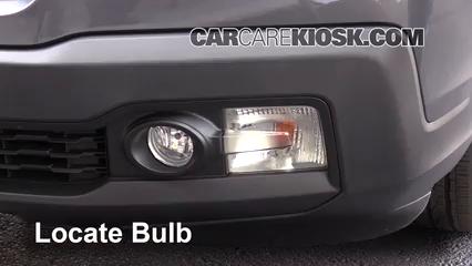 2017 Honda Ridgeline RTL 3.5L V6 Lights Turn Signal - Front (replace bulb)