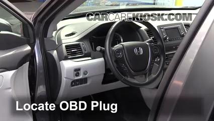2017 Honda Ridgeline RTL 3.5L V6 Check Engine Light Diagnose