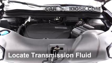 2017 Honda Ridgeline RTL 3.5L V6 Transmission Fluid Add Fluid