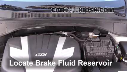 2017 Hyundai Santa Fe SE 3.3L V6 Líquido de frenos