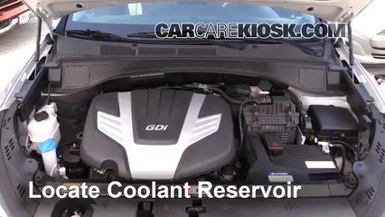 2017 Hyundai Santa Fe SE 3.3L V6 Pérdidas de líquido