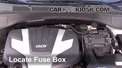 2017 Hyundai Santa Fe SE 3.3L V6 Fusible (motor)