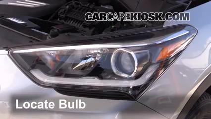 2017 Hyundai Santa Fe SE 3.3L V6 Lights Parking Light (replace bulb)