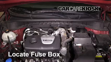2017 Hyundai Tucson Eco 1.6L 4 Cyl. Turbo Fuse (Engine)