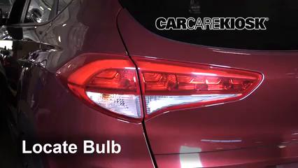 2017 Hyundai Tucson Eco 1.6L 4 Cyl. Turbo Luces Luz de giro trasera (reemplazar foco)