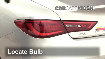 2017 Infiniti Q60 Premium 3.0L V6 Turbo Lights Tail Light (replace bulb)