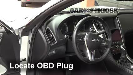 2017 Infiniti Q60 Premium 3.0L V6 Turbo Compruebe la luz del motor Diagnosticar