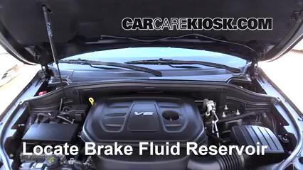 2017 Jeep Grand Cherokee Laredo 3.6L V6 FlexFuel Brake Fluid