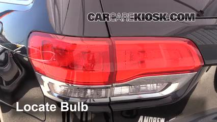 2017 Jeep Grand Cherokee Laredo 3.6L V6 FlexFuel Lights