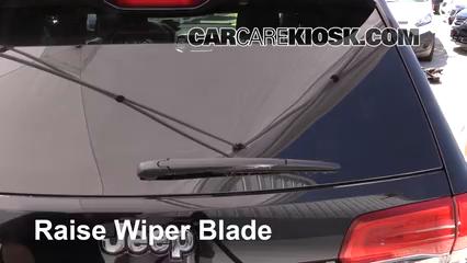 2017 Jeep Grand Cherokee Laredo 3.6L V6 FlexFuel Windshield Wiper Blade (Rear)