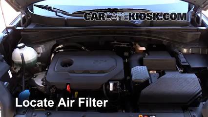 2017 Kia Sportage LX 2.4L 4 Cyl. Air Filter (Engine)