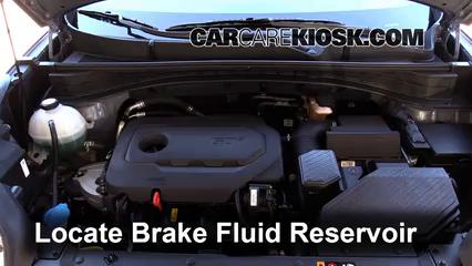 2017 Kia Sportage LX 2.4L 4 Cyl. Brake Fluid