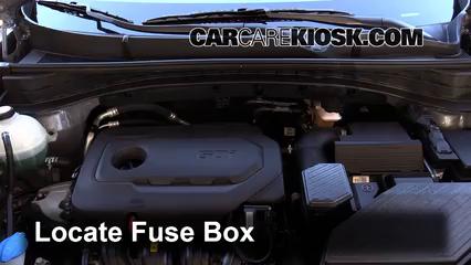 2017 Kia Sportage LX 2.4L 4 Cyl. Fuse (Engine)